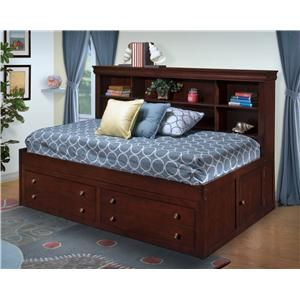 For The Boys Captain Daybed With Trundle Signature Design By