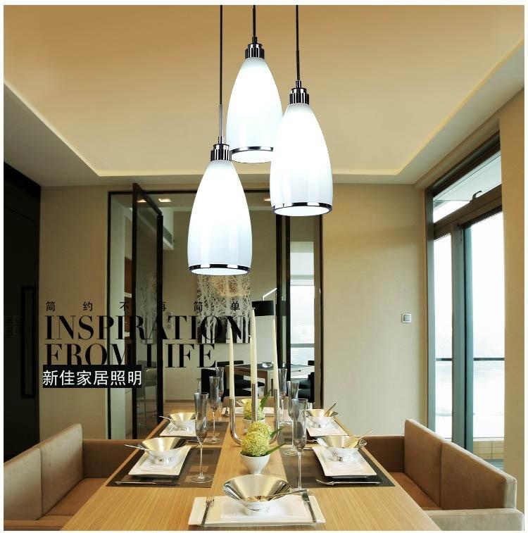 61.20$  Buy here - http://aliznz.shopchina.info/1/go.php?t=32519300007 - DIY modern kitchen lamps minimalist glass pendant lamp creative restaurant bar lamp table lamp lighting  #bestbuy