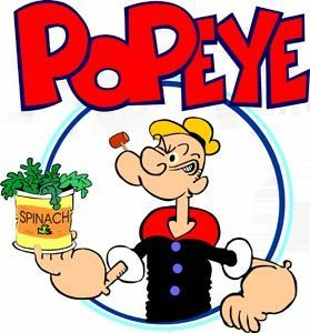 My favorite cartoon; Popeye's the reason I ate | http://cartoonphotocollections.13faqs.com