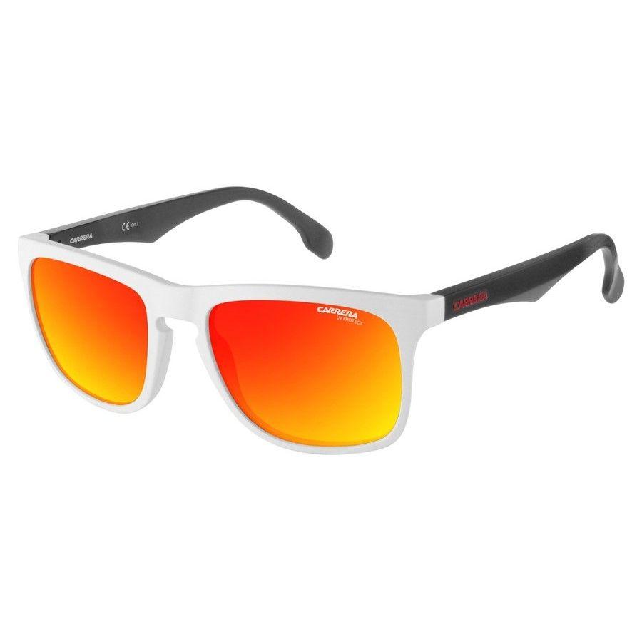 Carrera Unisex White Square Sunglasses 5043/S 06HT 00 56