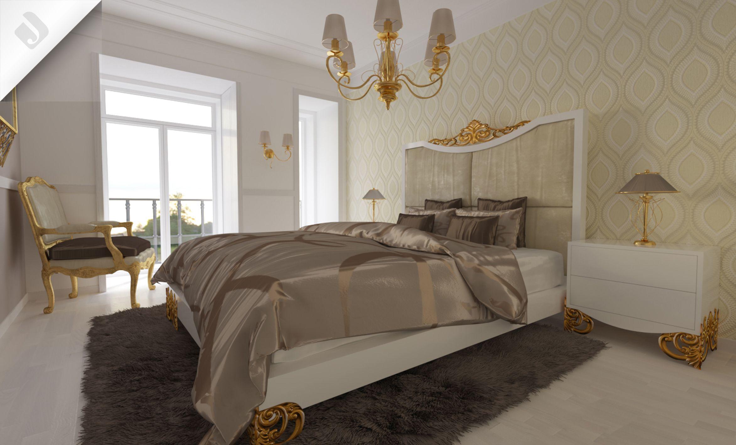 Luxus Neoclassic Bed