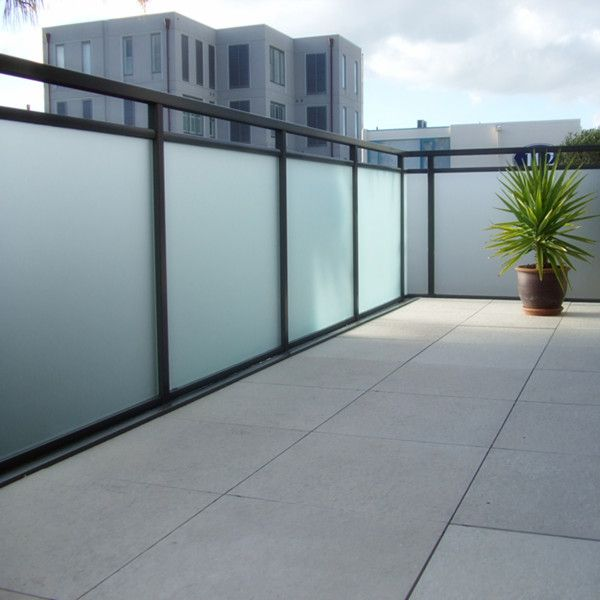 Luxury Balcony Glass Railing