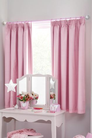 Pencil Pleat Blackout Curtains From The Next Uk Online