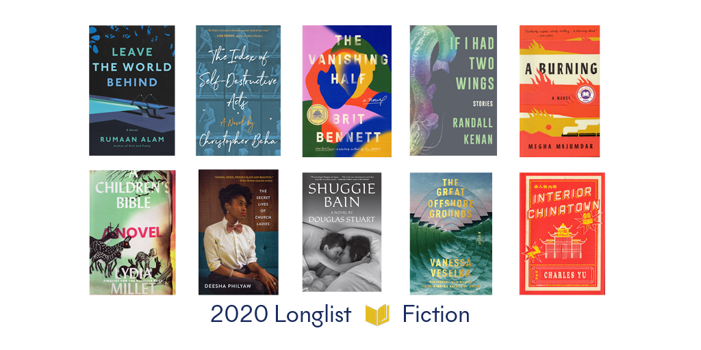 2020 National Book Awards Longlist for Fiction - National Book Foundation