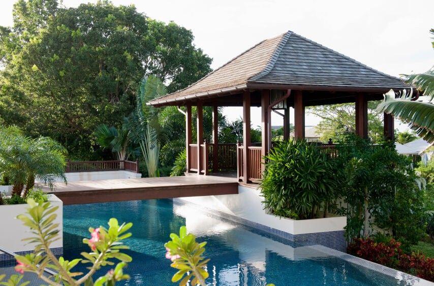 34 quadratische pavillons geben ihrem garten stil | 34, Gartengerate ideen