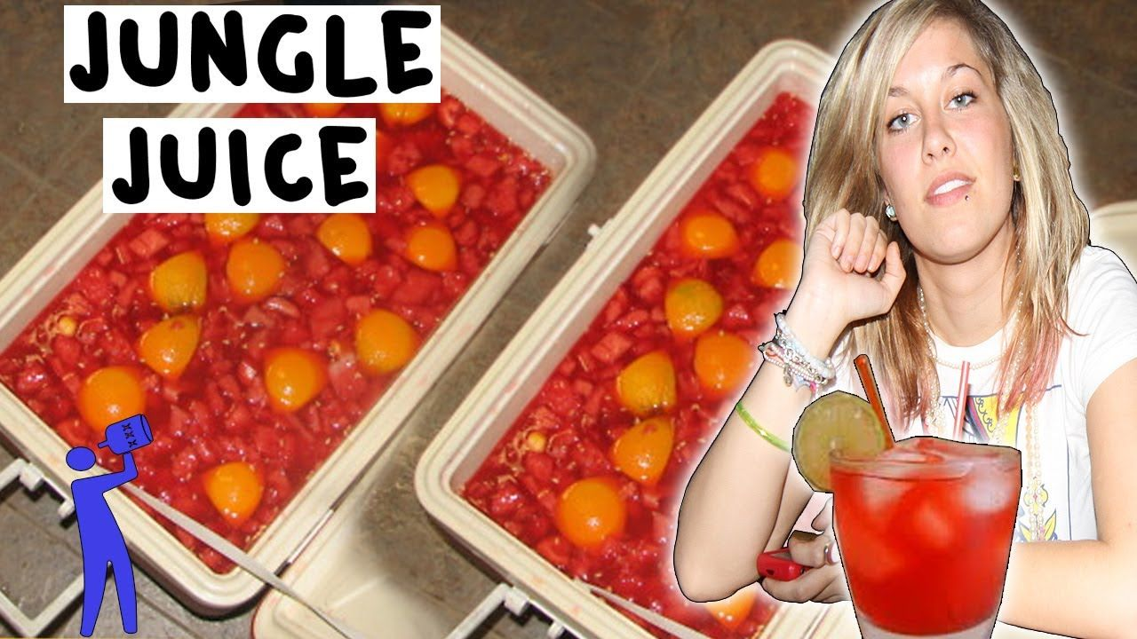 how to make alcoholic fruit punch drink