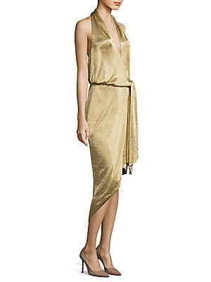 Misha Collection Elizabeth Halter Mesh Dress | Dresses | Pinterest ...