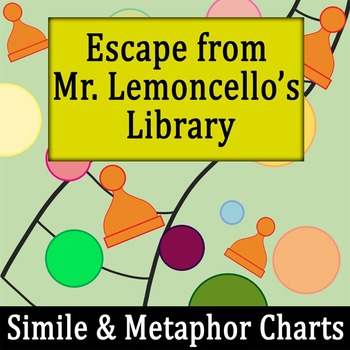 Escape From Mr Lemoncellos Library Simile Metaphor Chart W