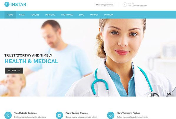 20 Best HTML5 Health and Medical Website Templates For Clinics ...