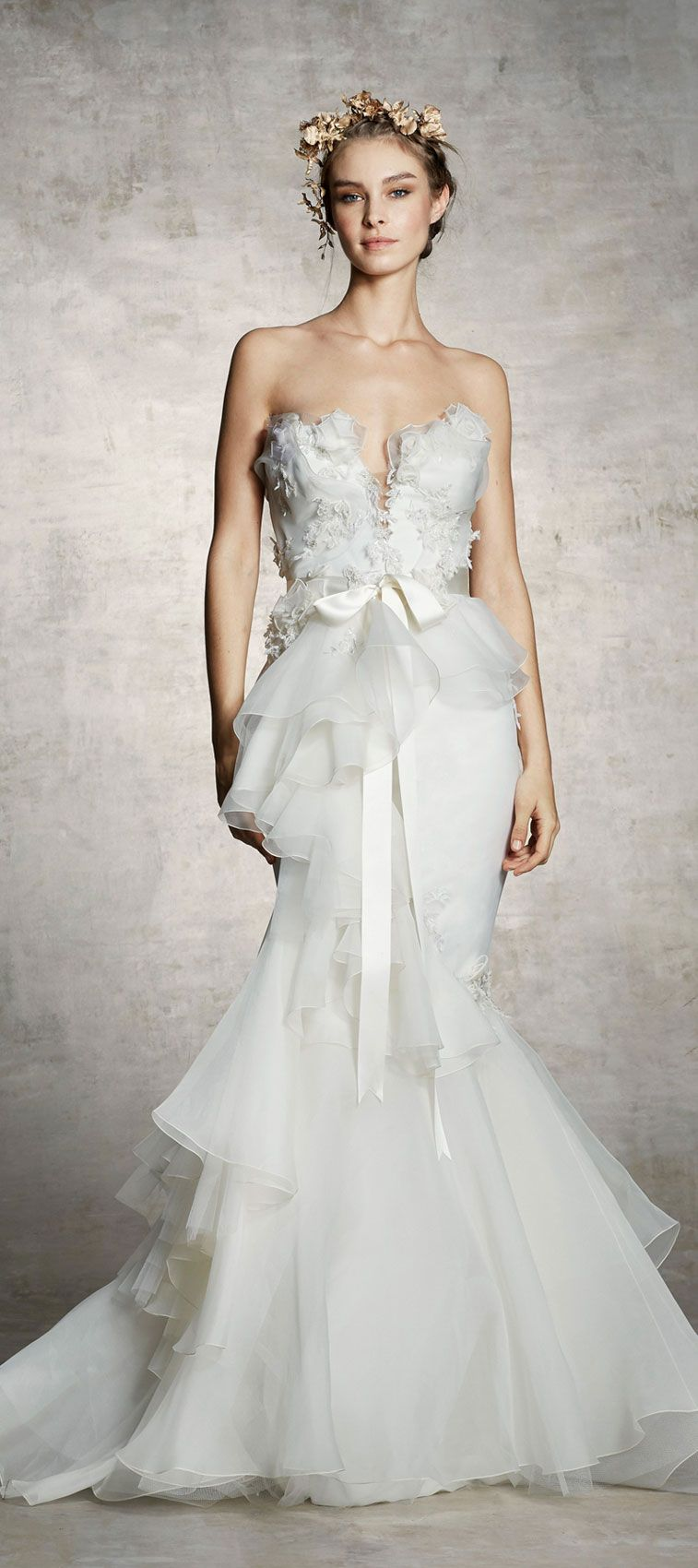 Marchesa Spring 2019 Bridal Collection