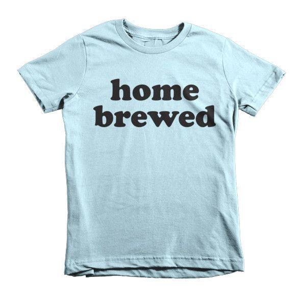 Home Brewed - Short sleeve kids t-shirt