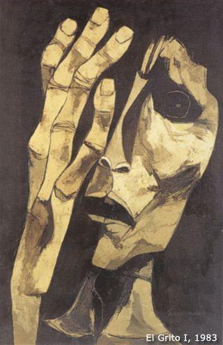 Guayasamin, El Grito I, 1983