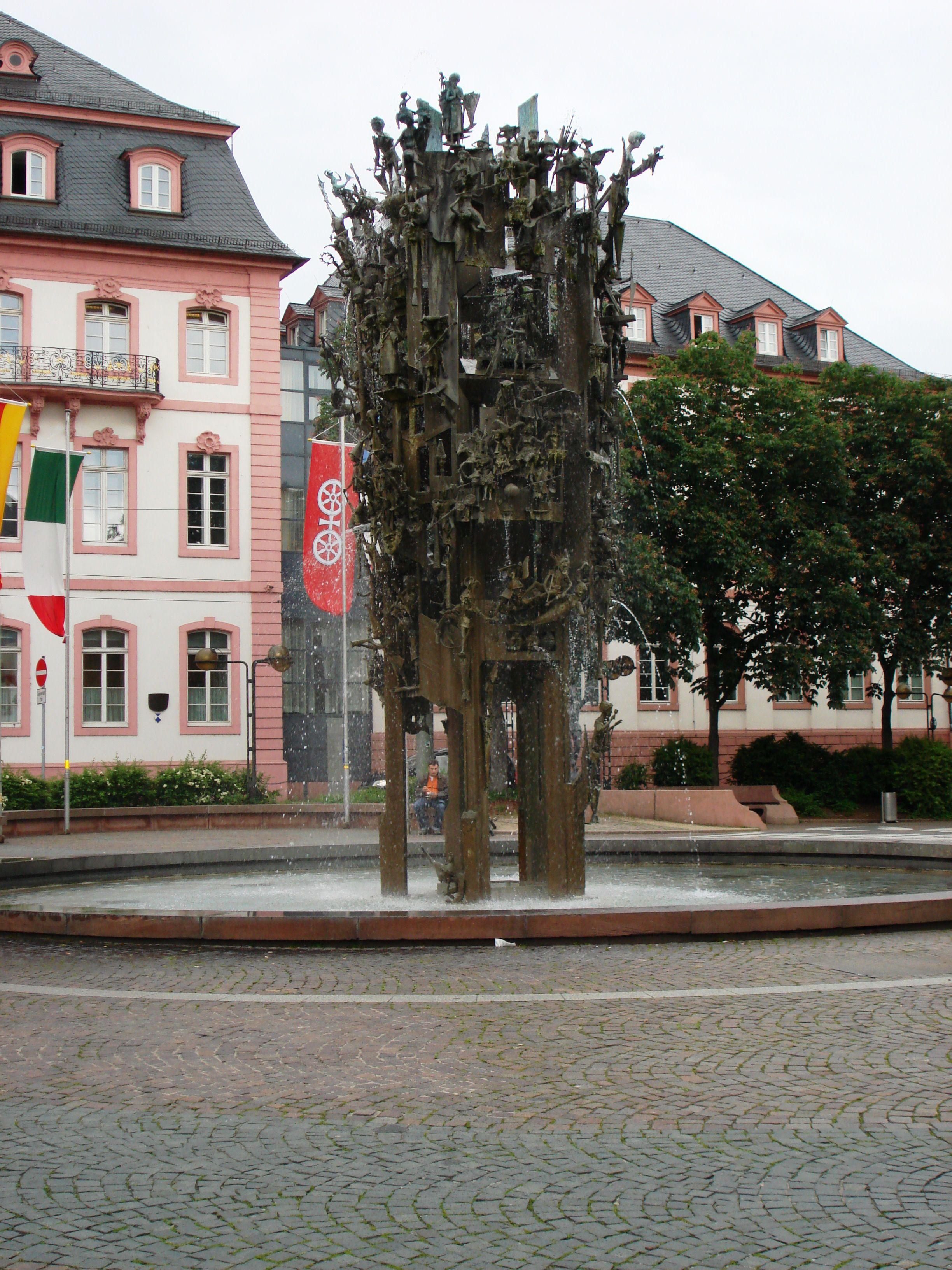 Fastnachts Brunnen Mainz Germany Mainz Mainz Germany Germany