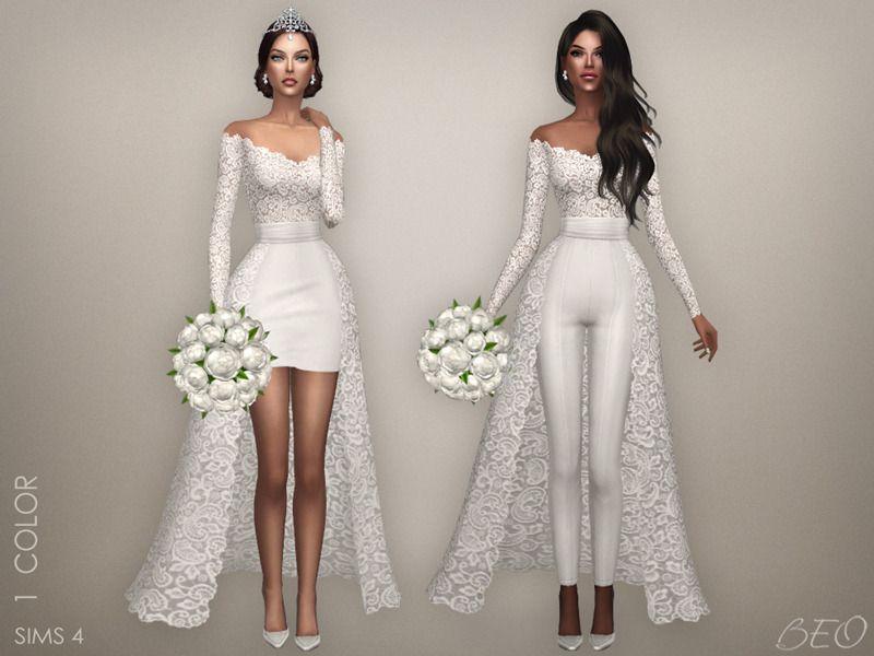 vestidos de novia sims 4 cc – los vestidos de noche son populares en