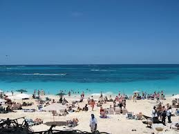 Cabbage Beach In Nau Bahamas Near Atlantis Had A Great Time There With Good