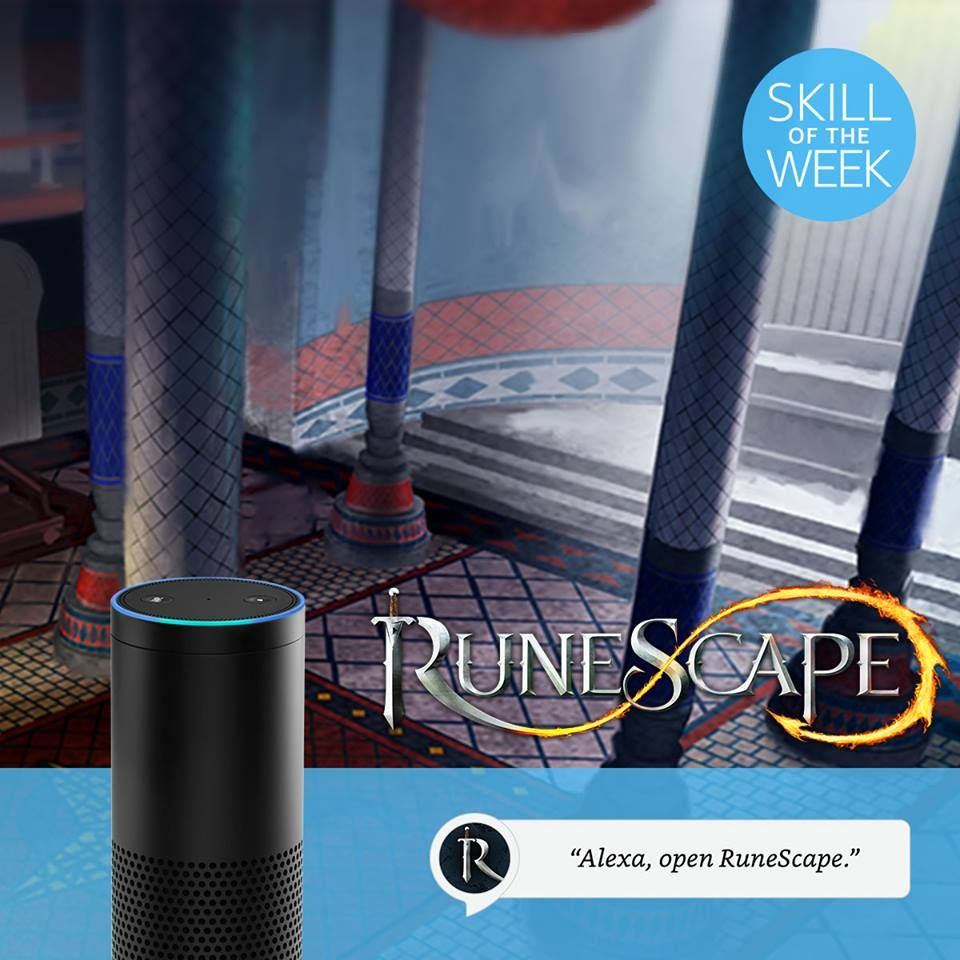 Go On An Interactive Audio Adventure With Alexa In The Runescape Quests:  One Piercing Note