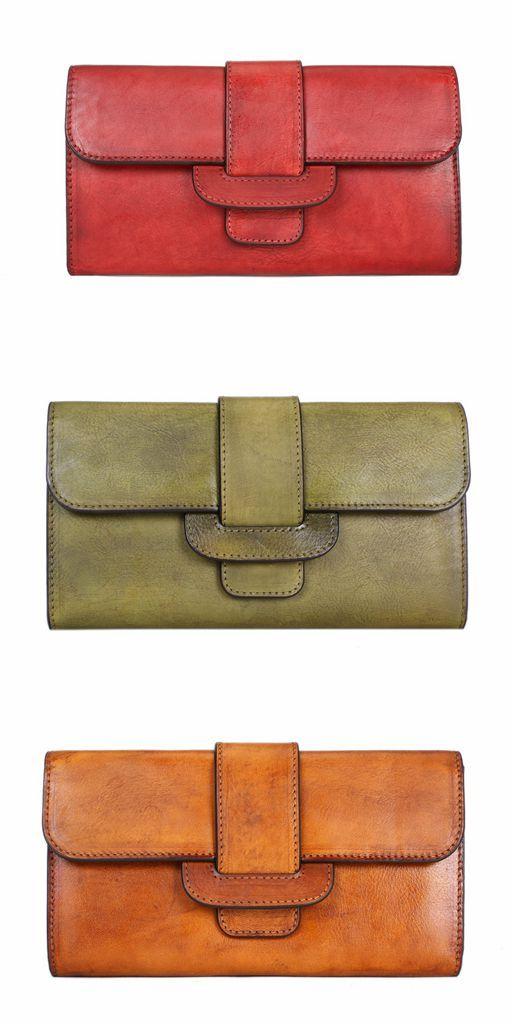 d699e401d92 Vintage Full Grain Leather Wallet