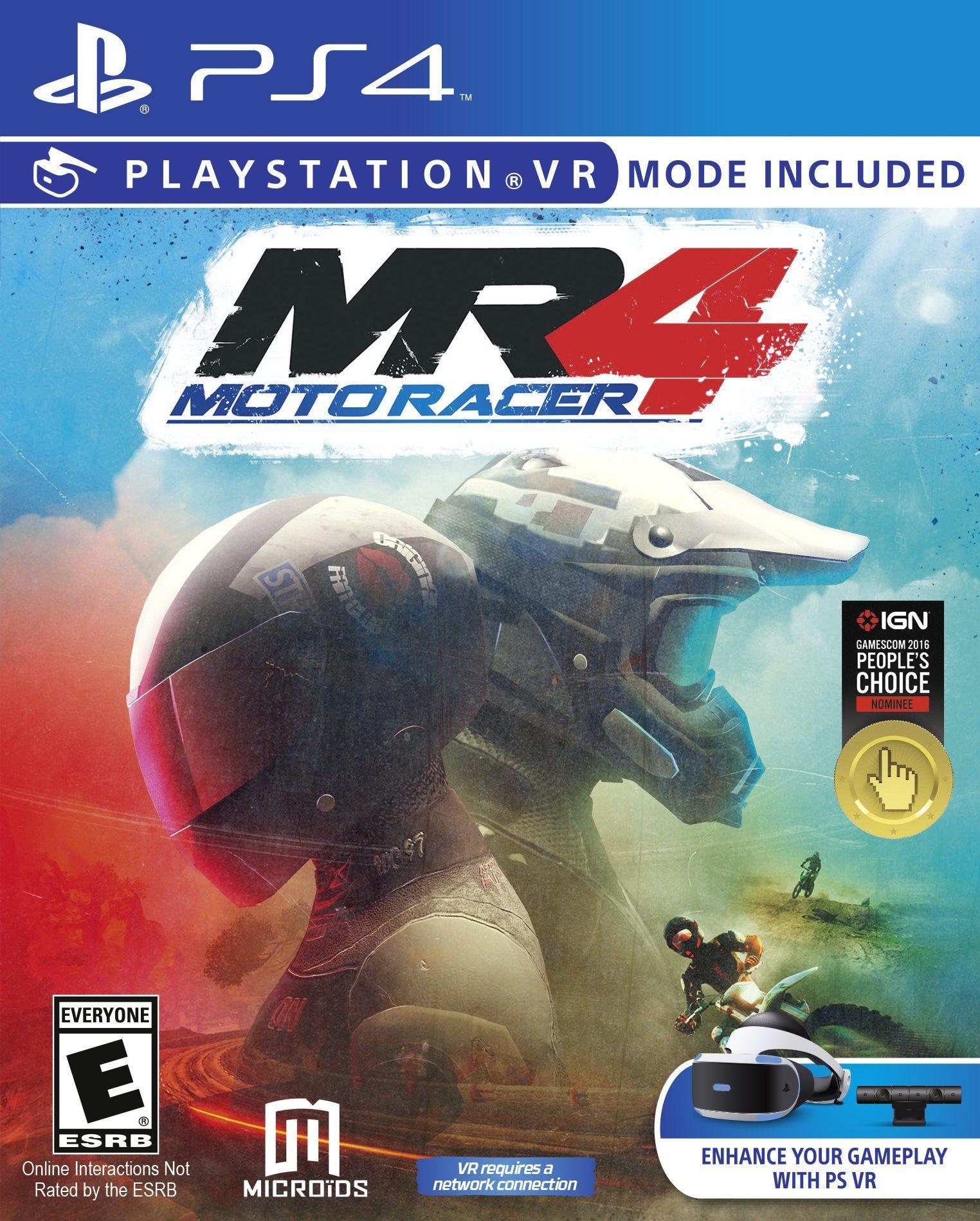 Moto Racer 4 Playstation, Playstation vr, Ps4 games