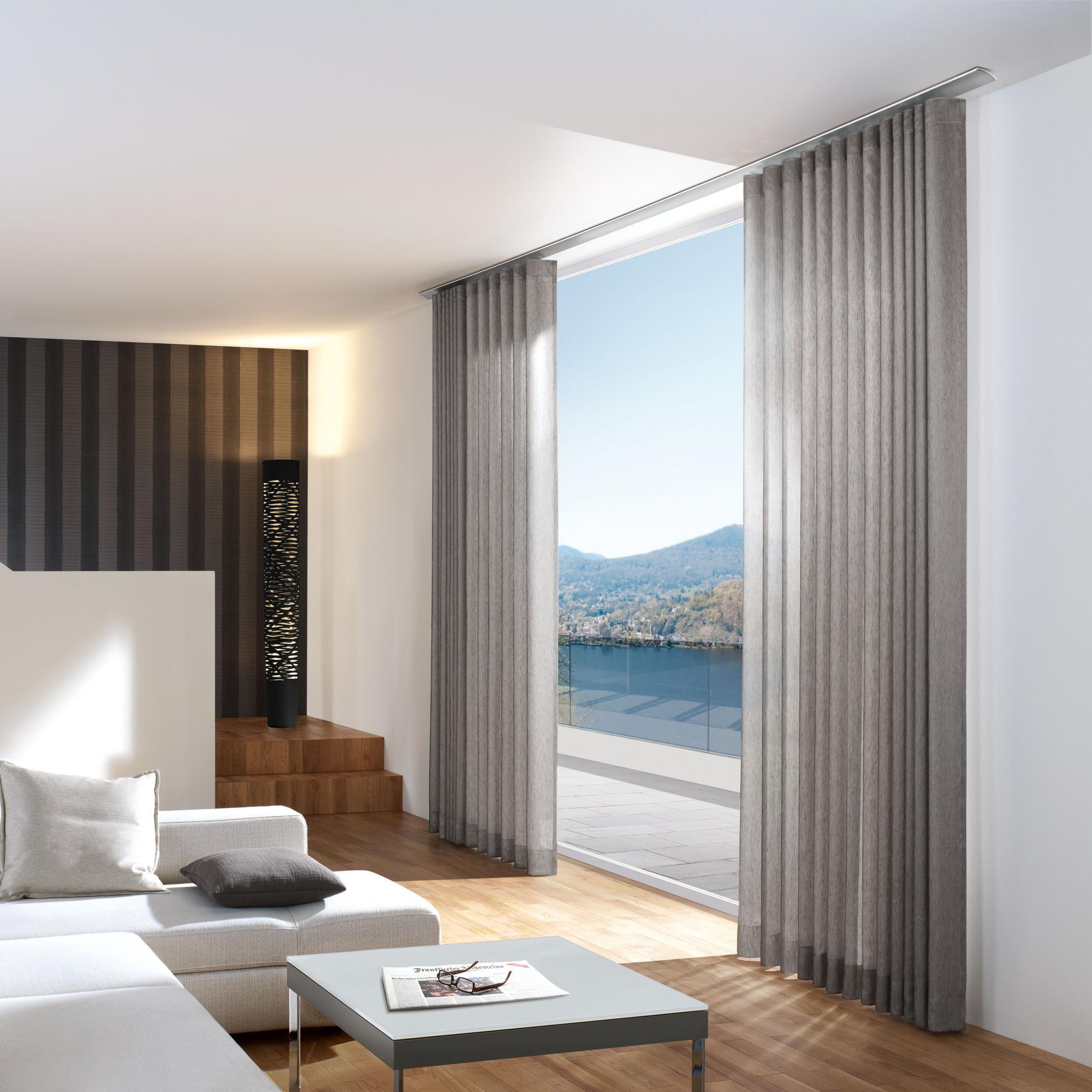 Beste Gardinen Wohnzimmer Modern Schema Garten Design Ideen