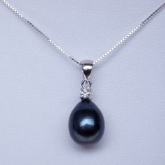 Exquisite Pearl/925 silver and chain With Pearl Women's Necklaces
