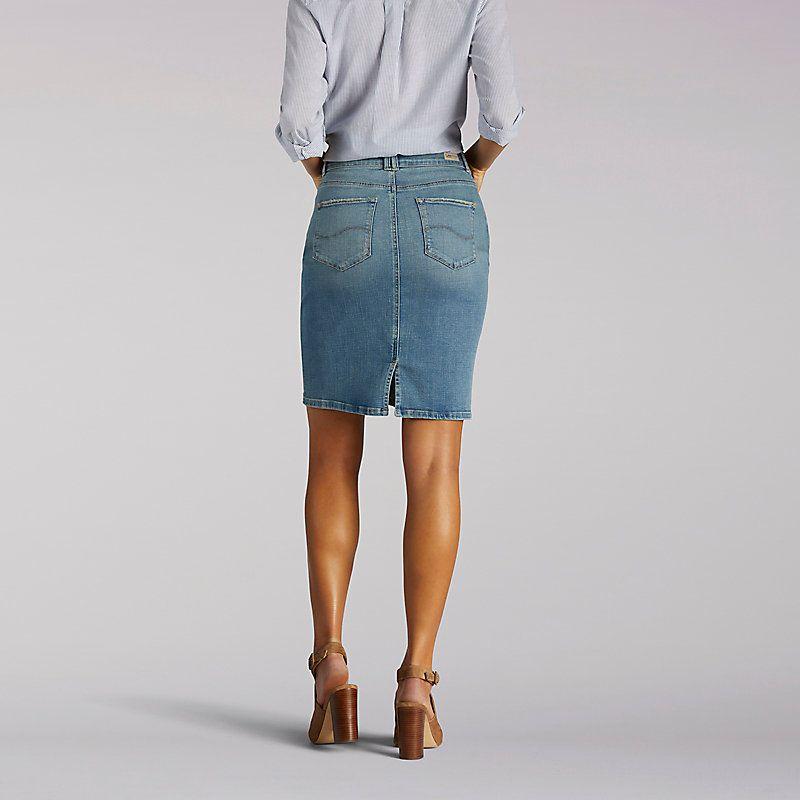 27270a4b Lee Women's Curvy Fit Stella Skirt - Modern Series (Size 14 x M ...
