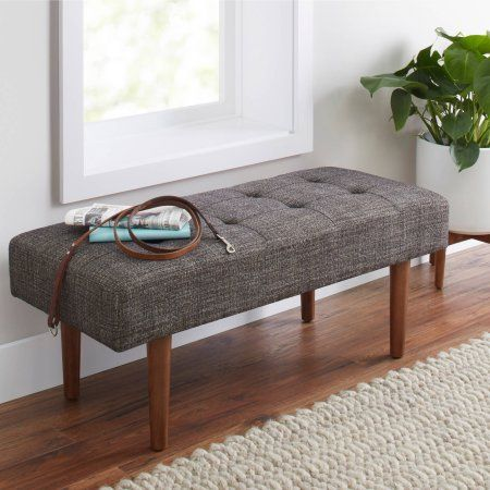 better homes and gardens flynn mid century modern upholstered