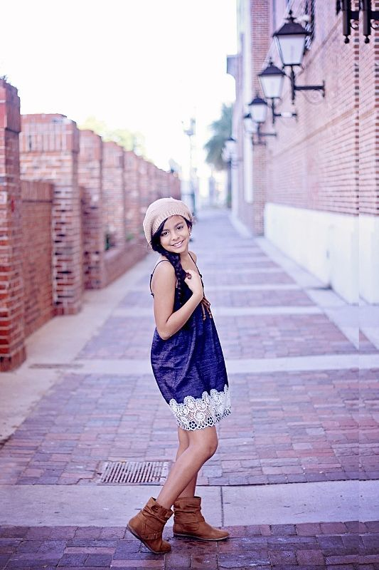 Nice Pose For Her Age! Simple Look For Girl U0026 Pre Teen, Model