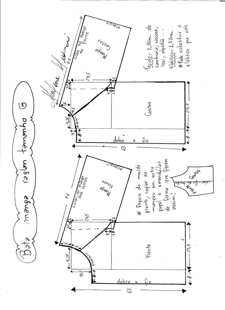 Pin de Mariajo Maro en patrones y costuras | Costura, Moldes y Patrones