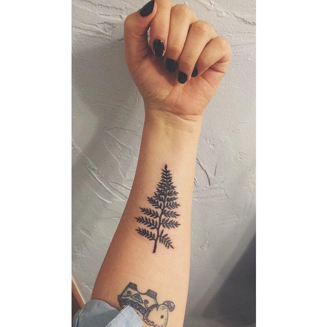 Fern Leaf Tattoo Fern Tattoo Body Art Tattoos Ink Tattoo