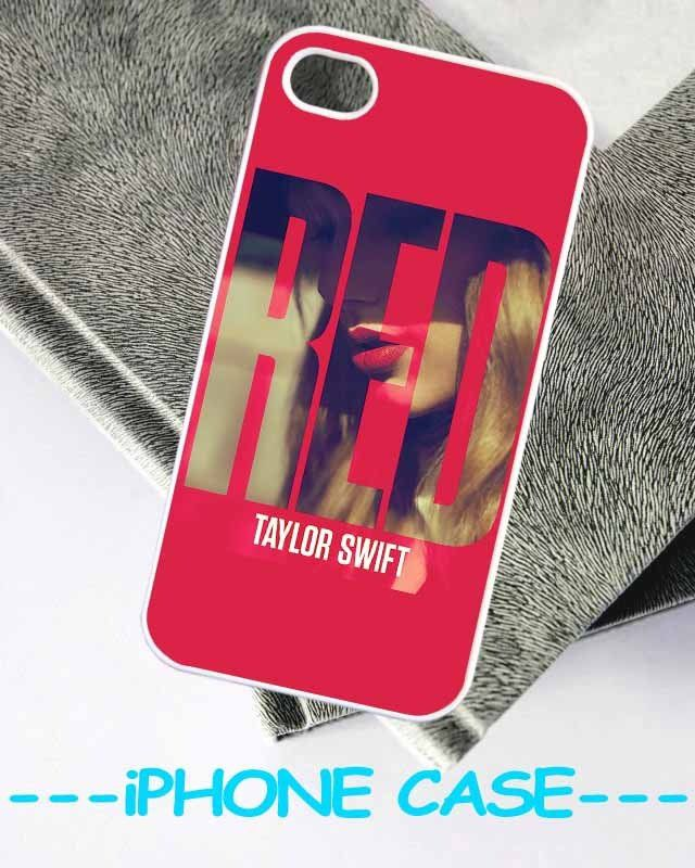 Taylor Swift Red WLY Design For iPhone 5/4/4s ( Black / White ) Case on Wanelo