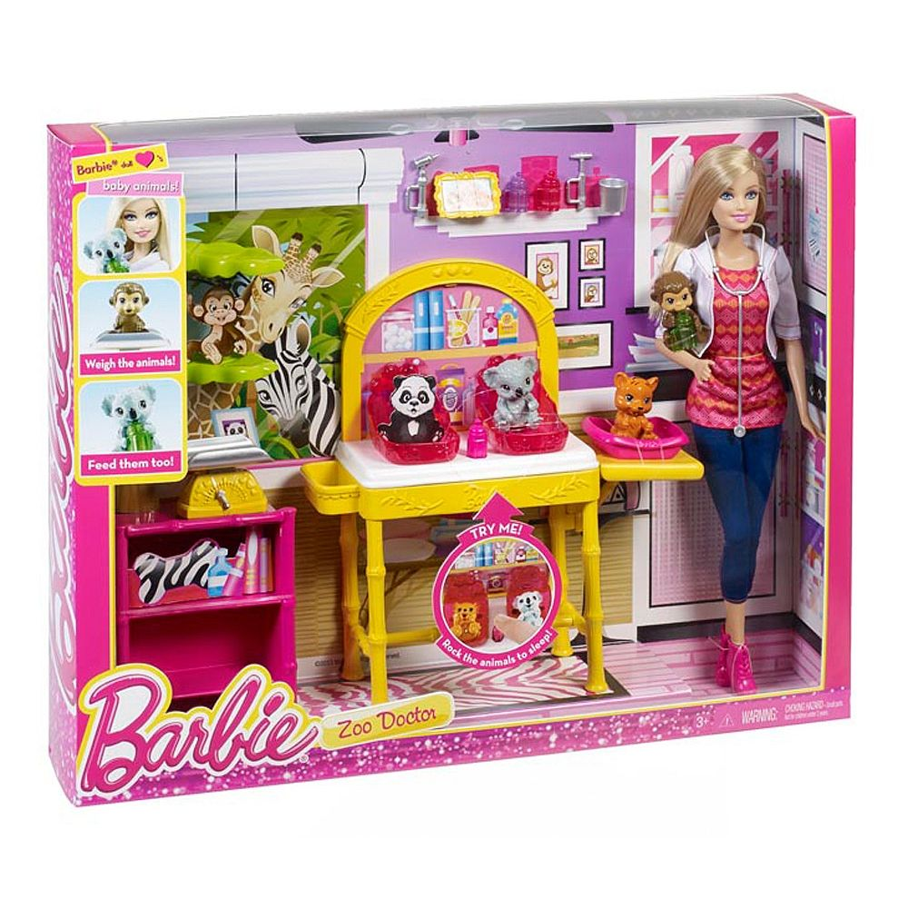 Barbie deluxe furniture stovetop to tabletop kitchen doll target - Barbie Careers Zookeeper Doll And Playset Mattel