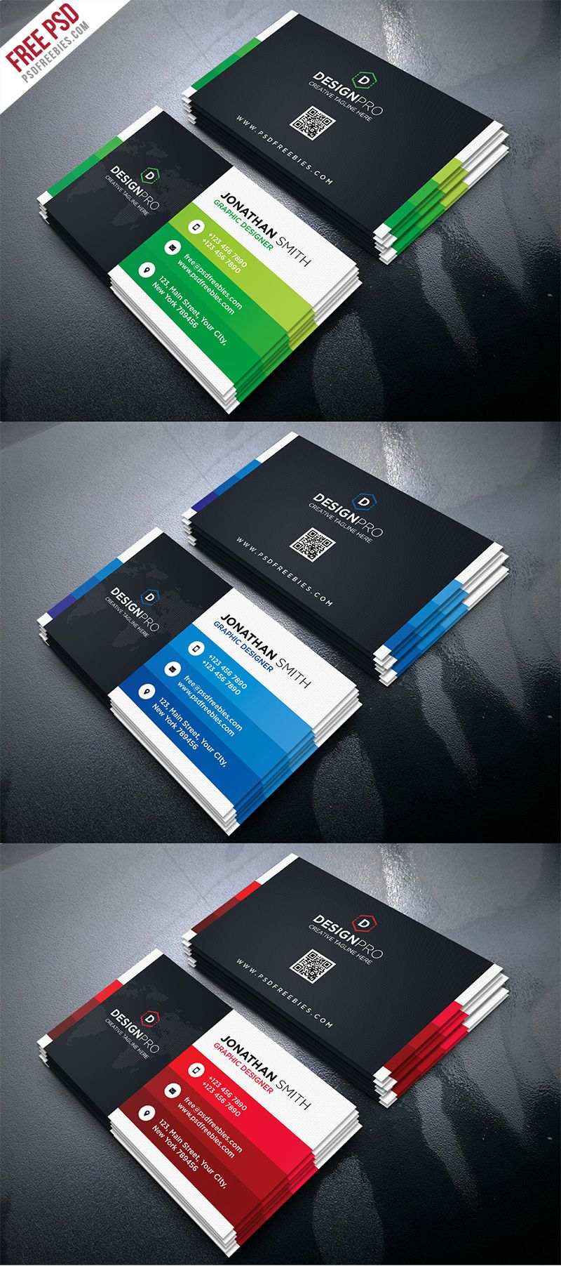 Awesome Business Cards Psd Download Component Business Card Ideas