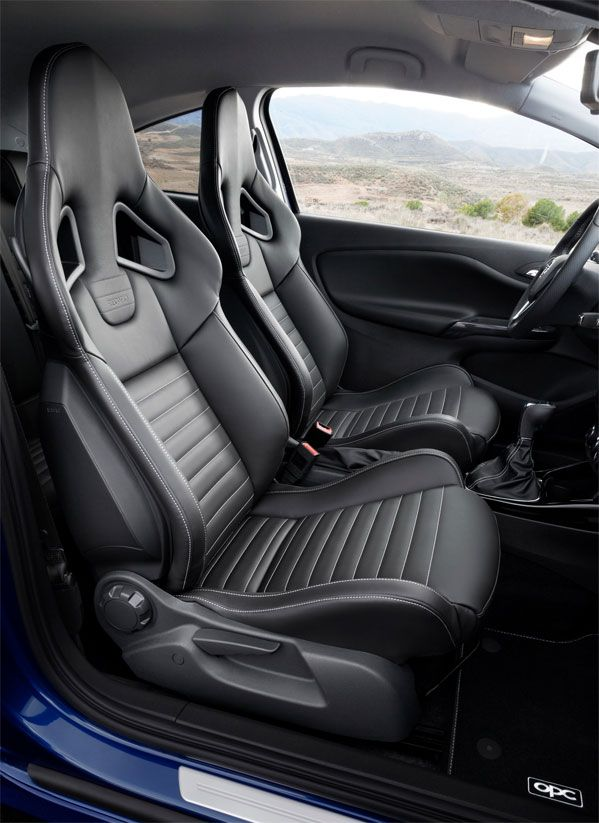 Review Opel Corsa OPC 2016 Specs Seating View Model