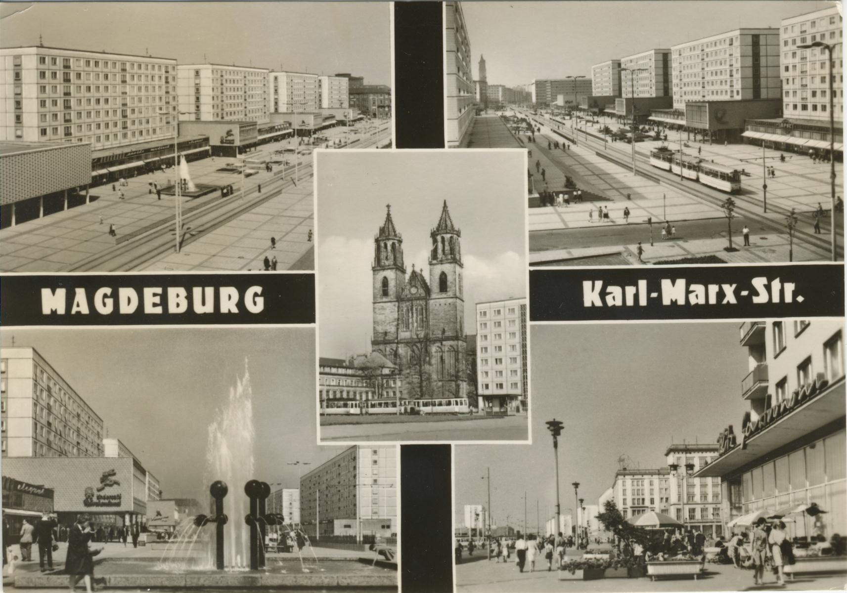 Magdeburg Ddr, Magdeburg und Karl marx