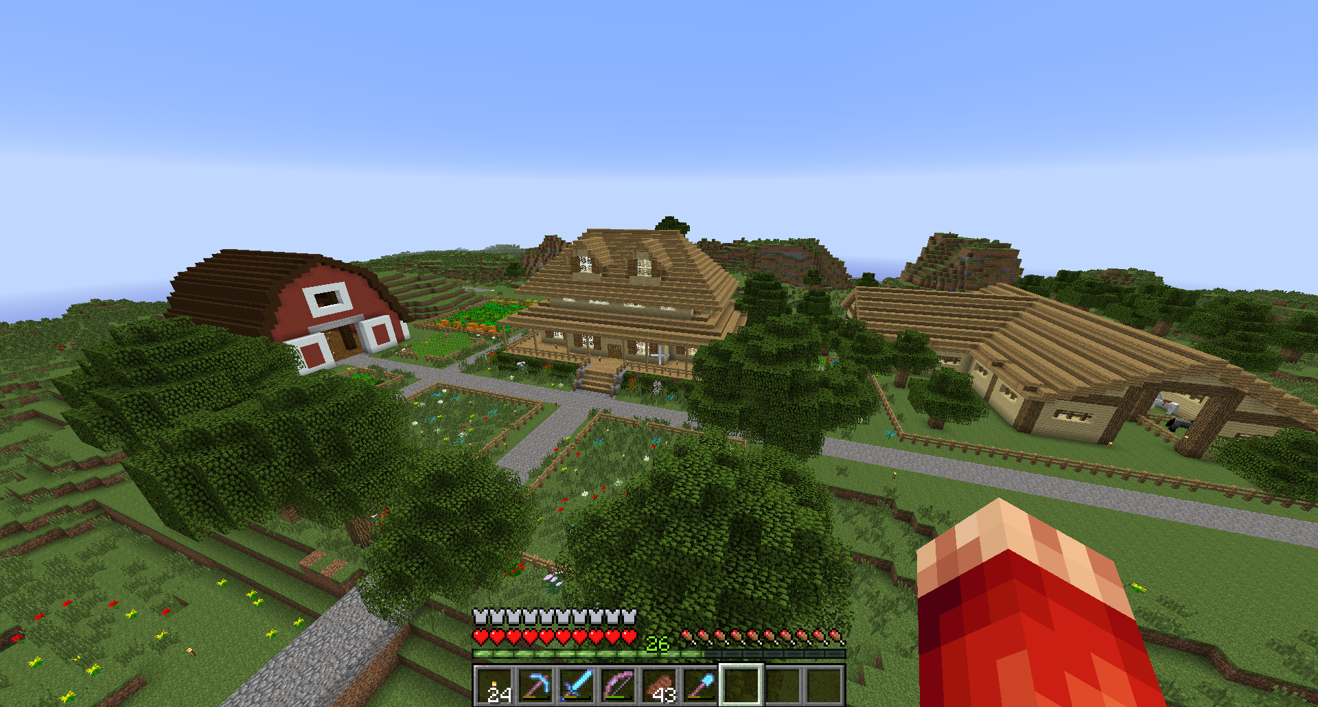 New Minecraft House Roofs