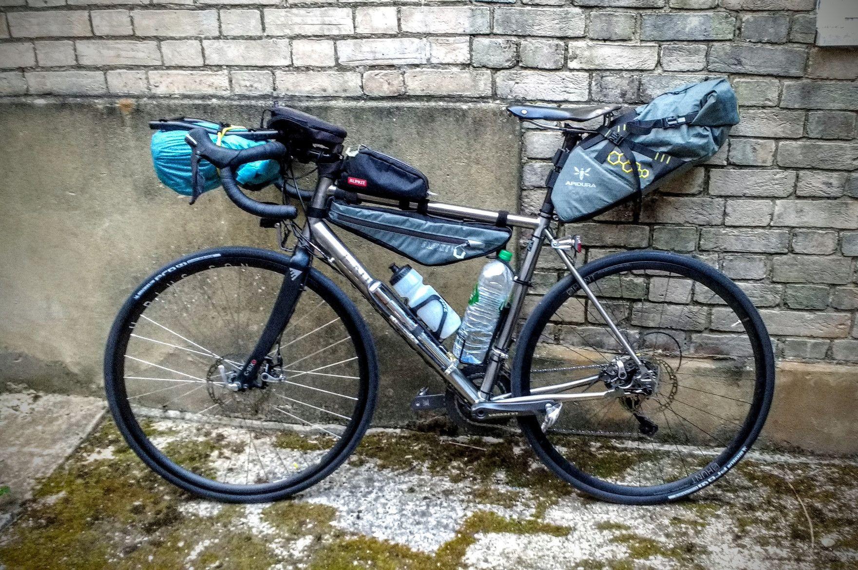 Rob Jordan Transcontinental Bike Lightweight Tour Bicycle