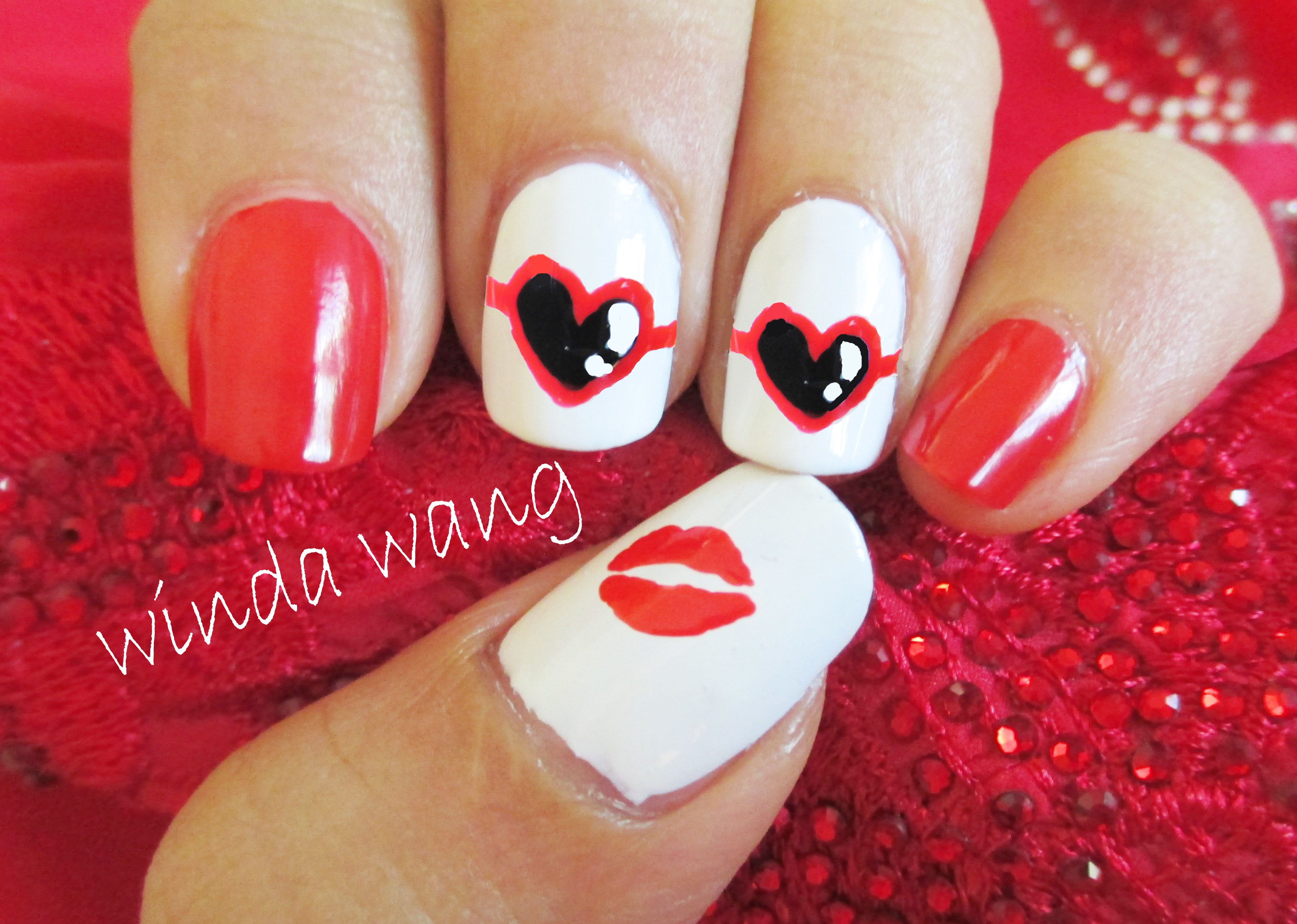 Taylor Swift 22 Music Video Inspired Nail Art Design Click Here To See The