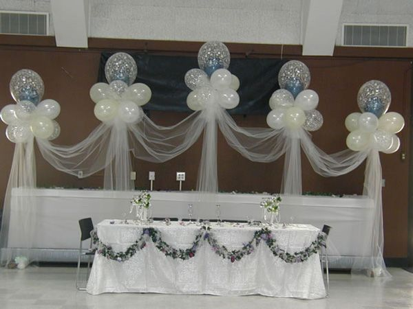 Stage Decor 006 Wedding Balloon Decorations Wedding Balloons