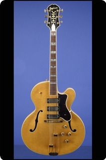 The Mother Of All Thinbody Electric Guitars 1960 Epiphone Emperor E111tn This 18 1 2 Inch Wide Thinbody Just Under 2 Epiphone Guitar Archtop Guitar