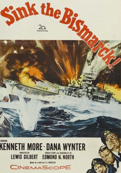 Sink The Bismarck 1960 With Images Classic Movie Posters