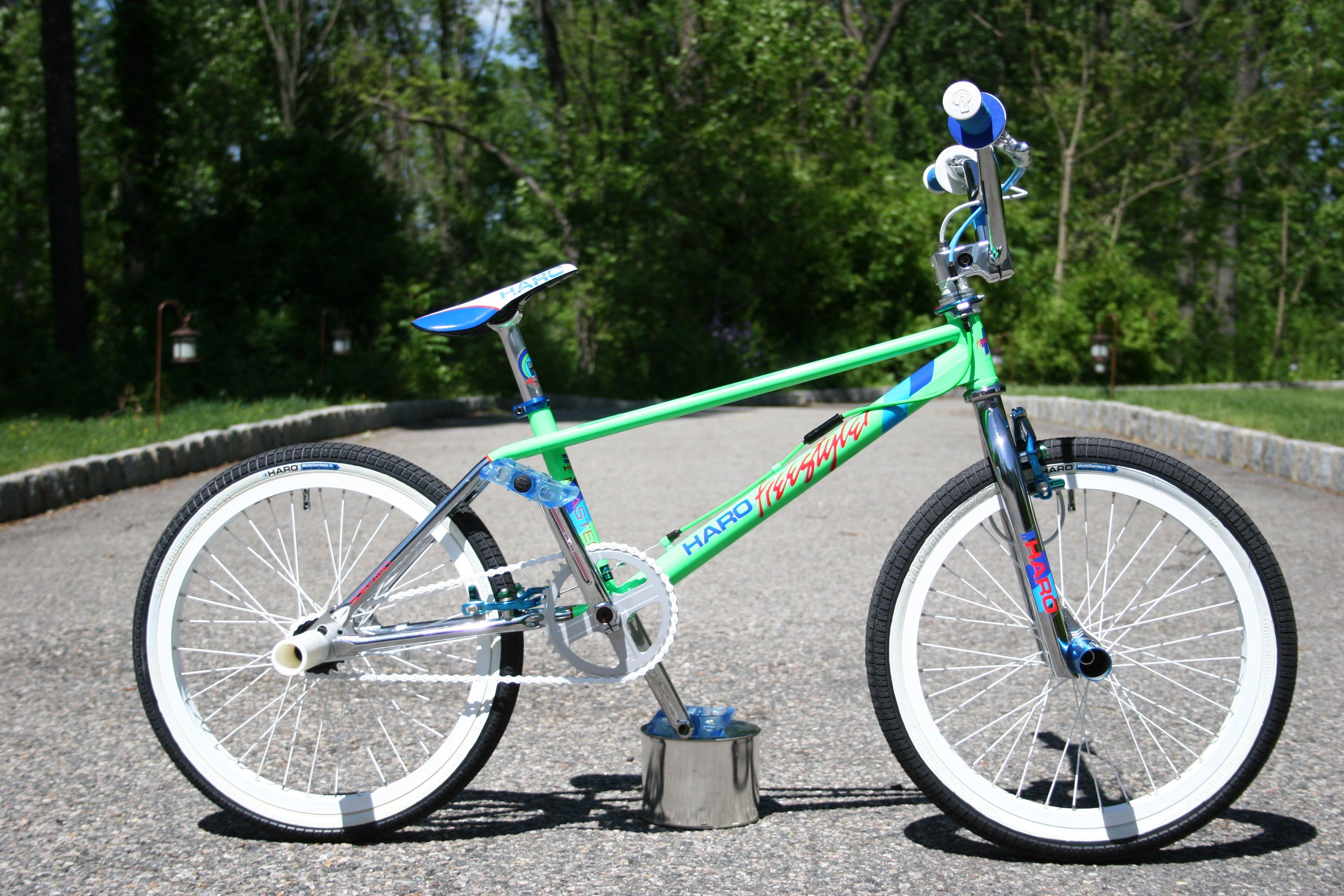 BMX BICYCLE BAR STEM NECK RAD PAD BLUE VINTAGE NOS