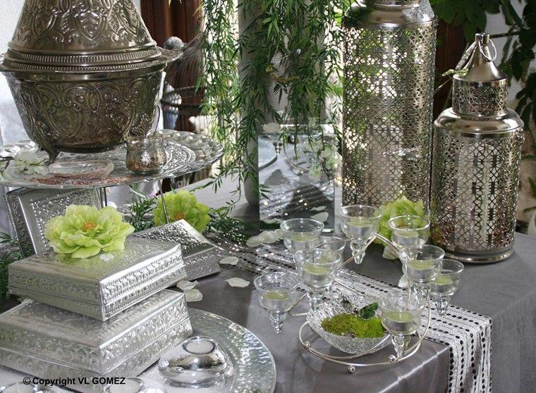 d coration maroc table et d cor pour mariage anniversaire diner mariage oriental. Black Bedroom Furniture Sets. Home Design Ideas