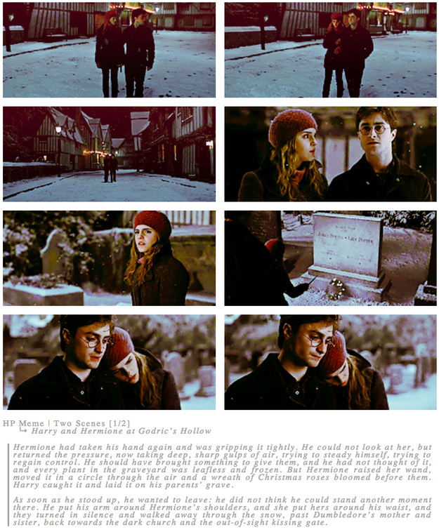 This Really Sweet Moment Between Harry And Hermione In