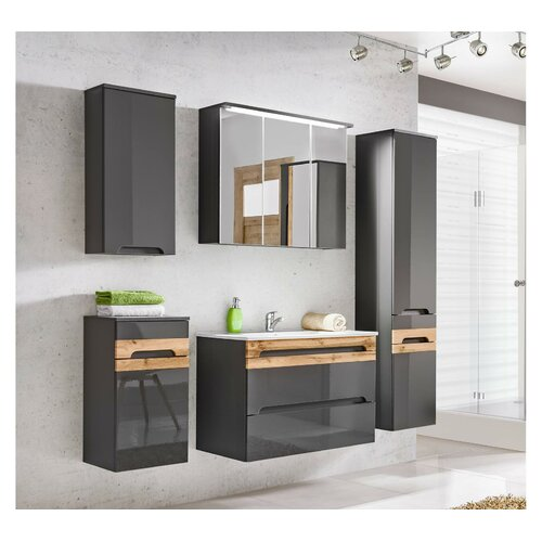 Longoria 6 Piece Bathroom Storage
