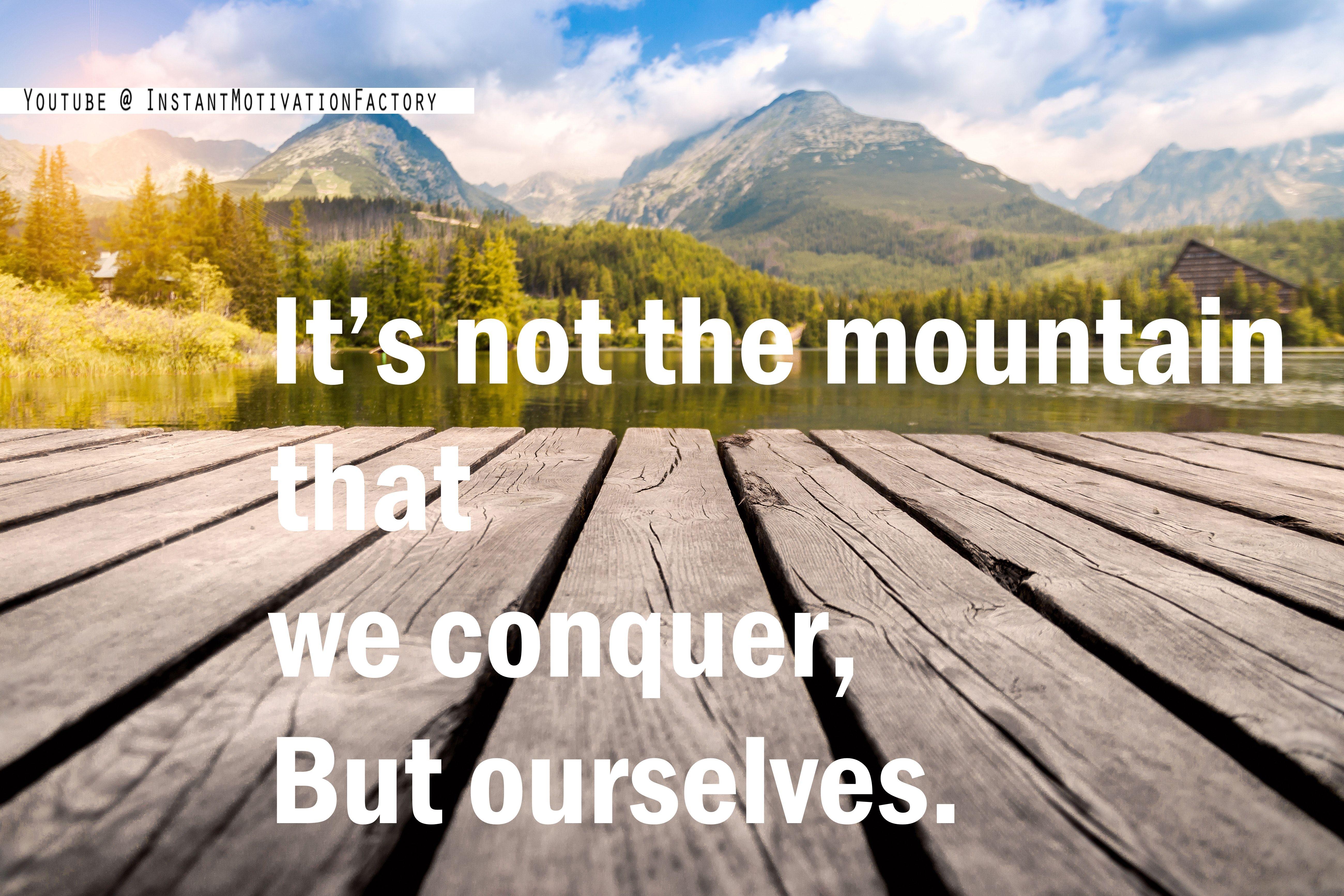 Hiking tales  Motivational videos, Motivation inspiration, Life
