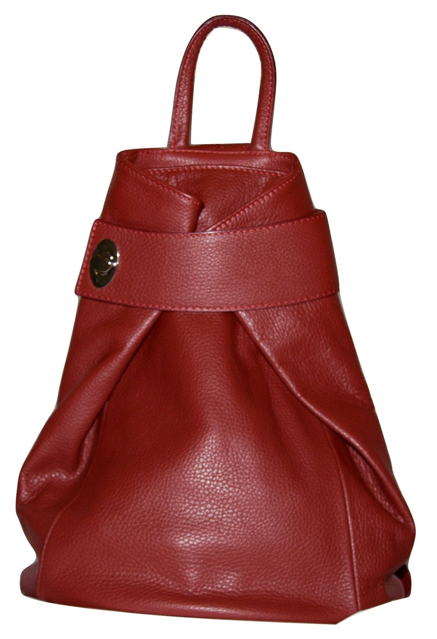 5a460660e7fd3 Stella Italian Leather Fashion Backpack Purse Top-Handle Shoulder ...