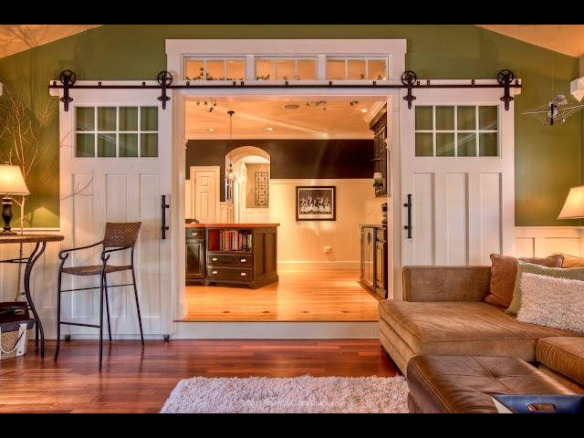 Elegant Sliding Door Designs for Living Room