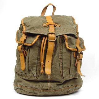 8ab611f1bb5e Canvas Travel Backpack
