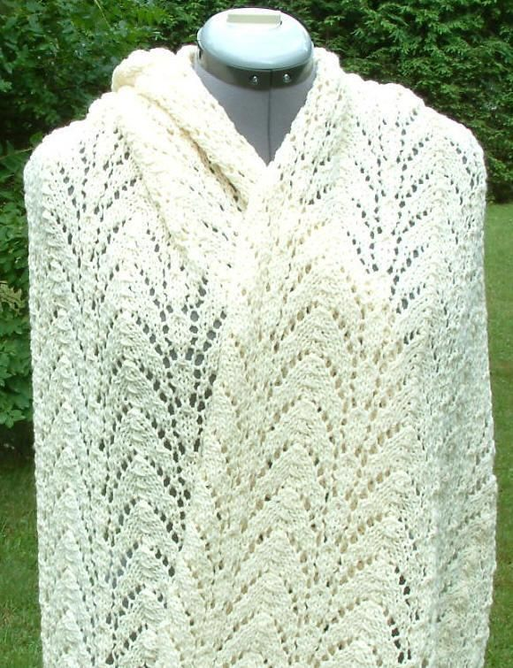 this prayer shawl is called Cathedral Arches | chal | Pinterest ...
