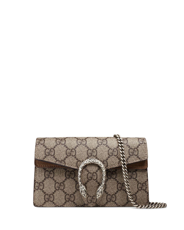 859fd0e77fee Gucci Dionysus GG Supreme Super Mini Bag in 2019 | Designer Only ...